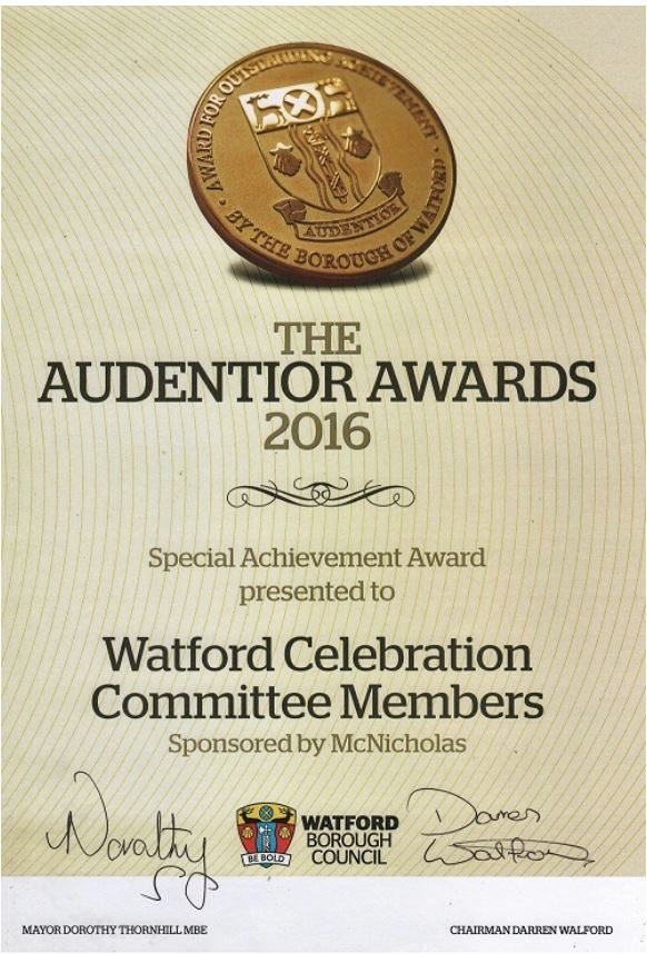 Audentior Award 2016